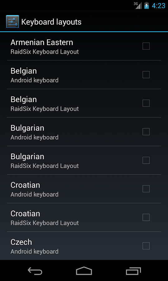 RS - Hardware Keyboard Layouts 1 2 APK Download - Android Libraries