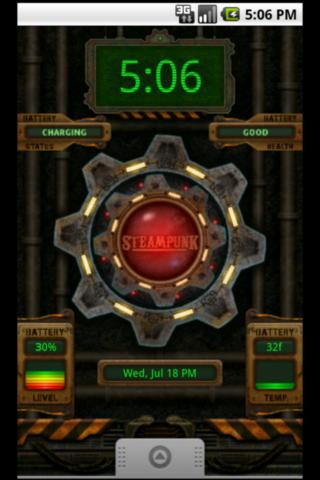 Battery Clock Live Wallpaper 20 Screenshot 2