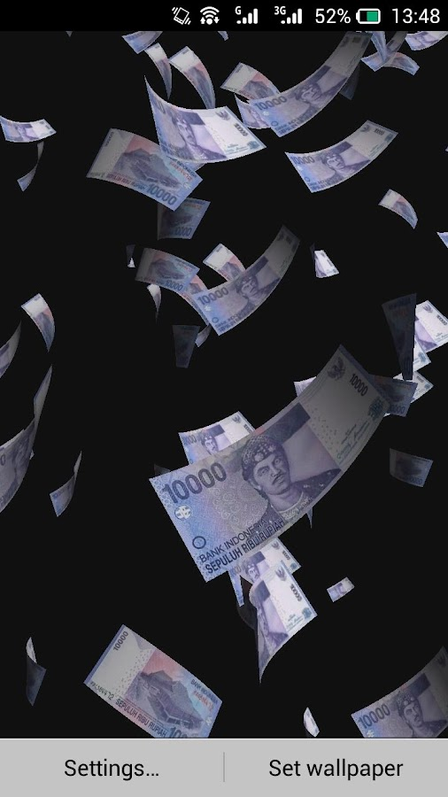 Money Rain Live Wallpaper 112 Screenshot 6