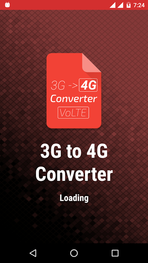 3G to 4G Converter LTE VoLTE 1 0 APK Download - Android