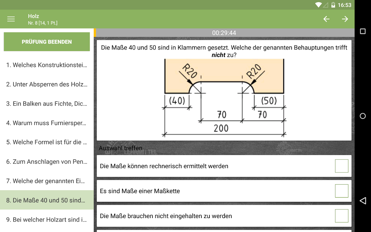 Prüfung Holztechnik 2.0 APK Download - Android Education Apps