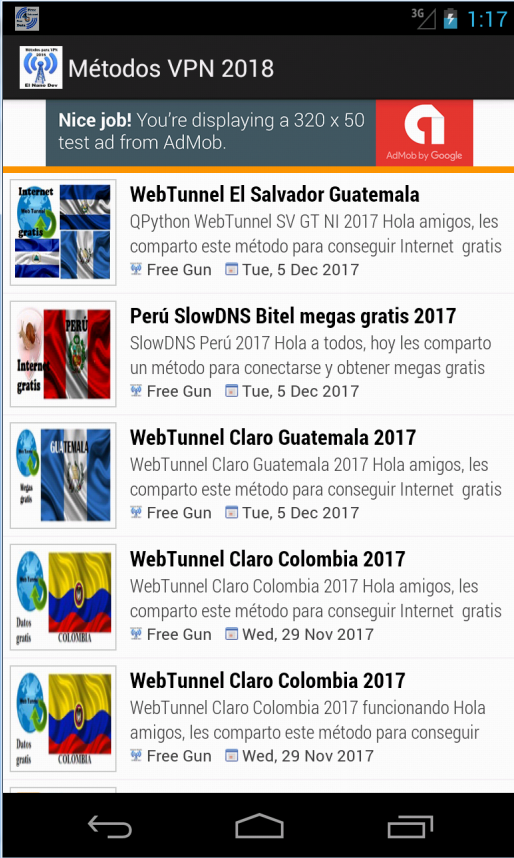 internet gratis android 2018 metodos 9 0 APK Download - Android