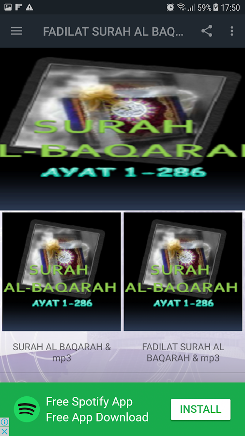 FADILAT SURAH AL BAQARAH & MP3 1 0 APK Download - Android