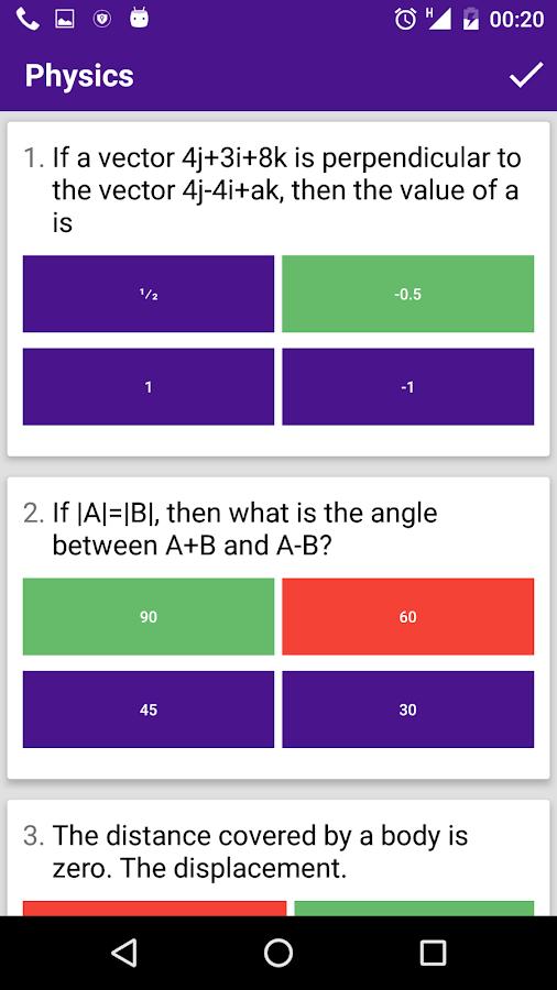 EntryTestPreparation NUST/ECAT 1 2 APK Download - Android Education Apps