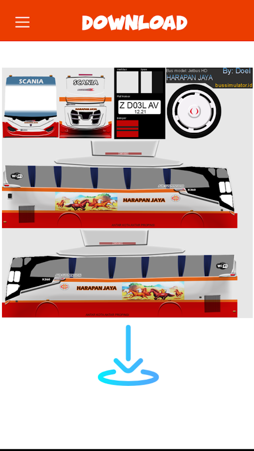 Livery Bussid Harapan Jaya 1 Apk Download Android Cats