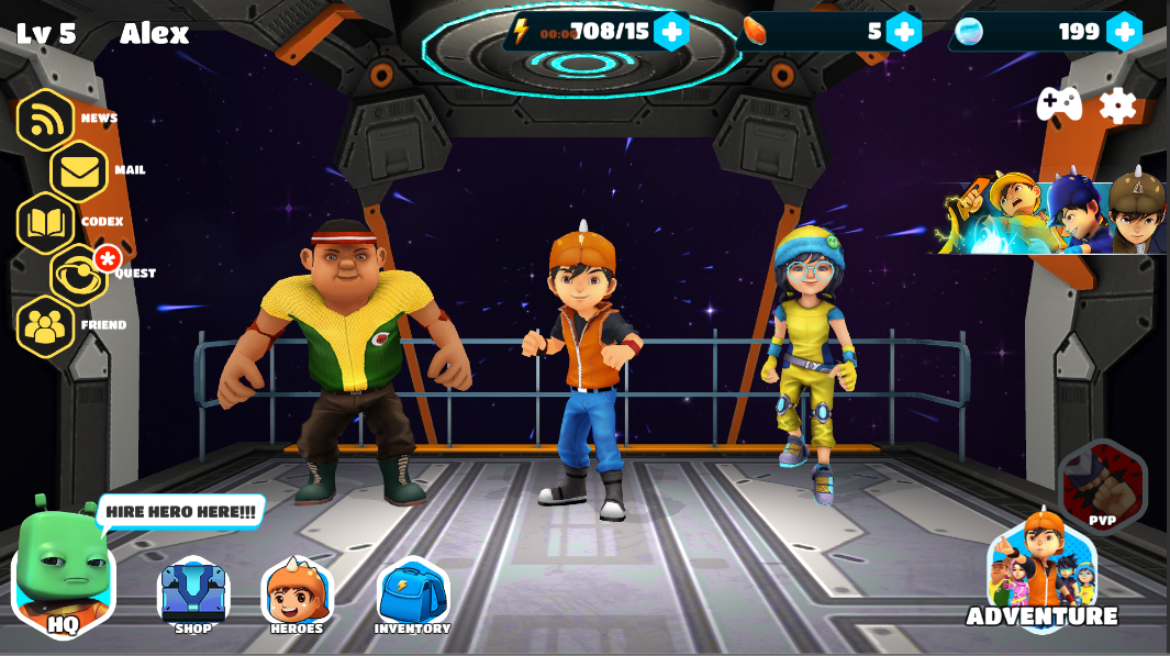 Boboiboy Galactic Heroes Rpg 1014 Apk Download Android