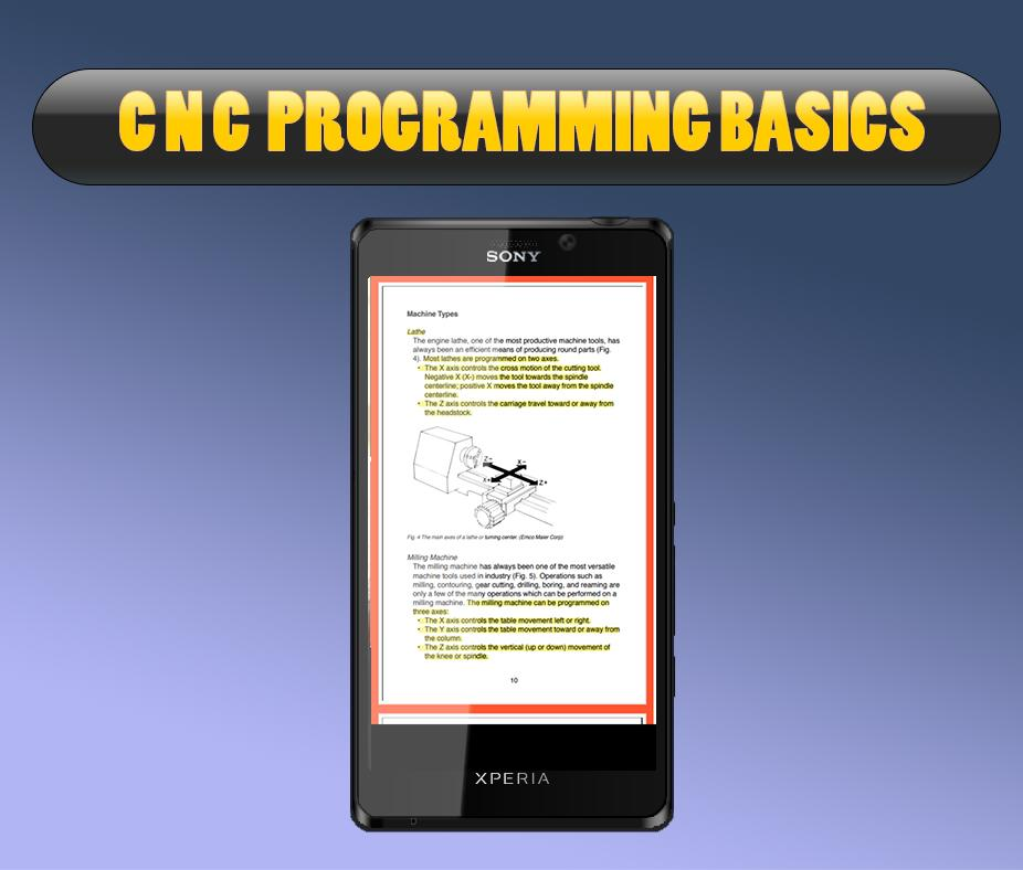 CNC PROGRAMMING BASICS 1 2 APK Download - Android Education Apps