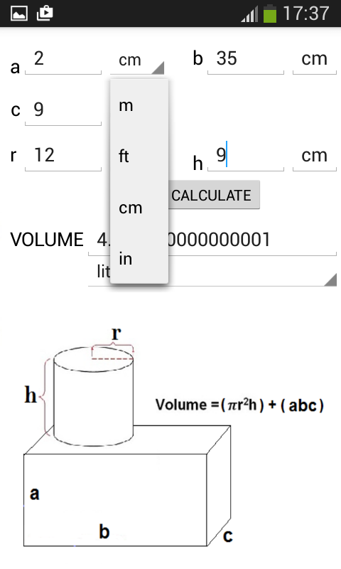 volume calculator adfree 1 0 apk download android productivity apps