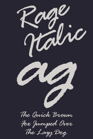 Rage Italic FlipFont 1 0 APK Download - Android Personalization Apps