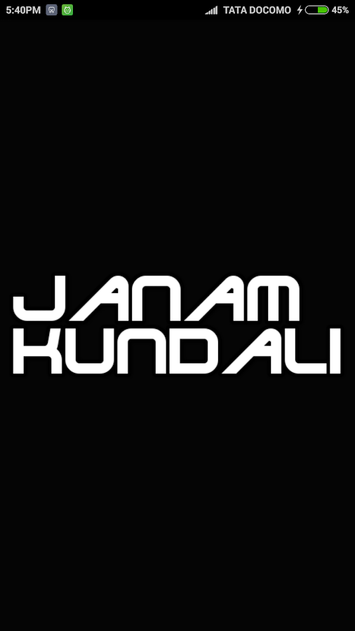 Janam Kundali 5 1 4 APK Download - Android Education Apps