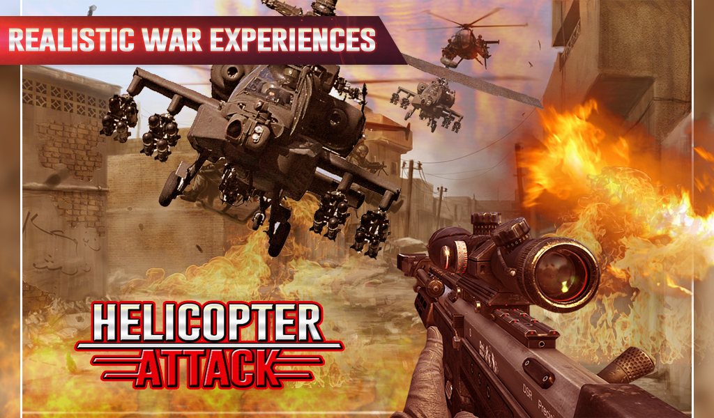 Heli Thunder Attack 1 1 APK Download - Android Action Games