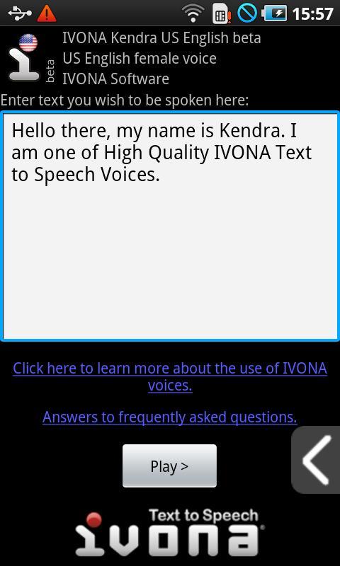 ivona brian voice free download