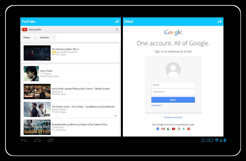 split screen apk android 4.4