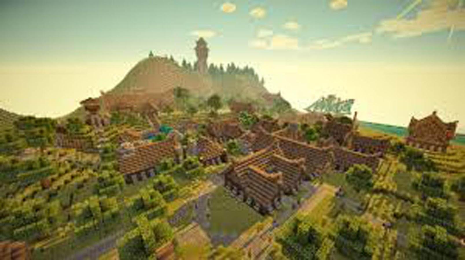 Карты Minecraft   Прохождение, Лучшие, Красивые