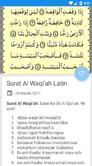 Surah Al Waqiah Lengkap 240 Apk Download Android Books