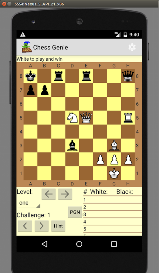 Chess Genie 1 2 3 APK Download - Android Board Games
