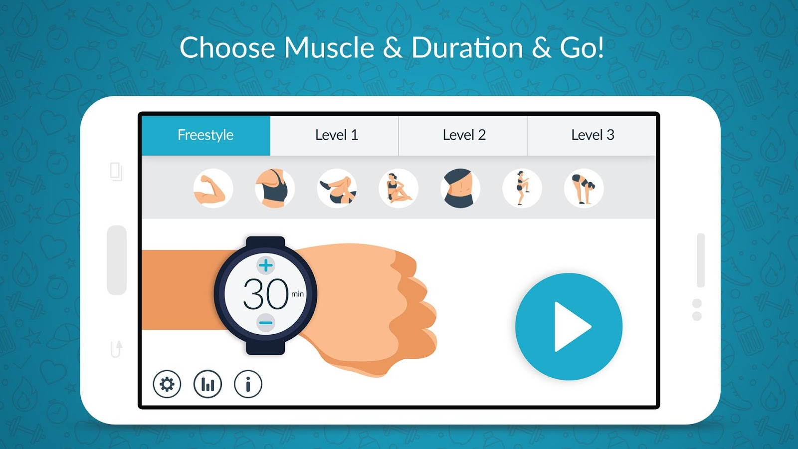 Women workout home gym cardio apk download android
