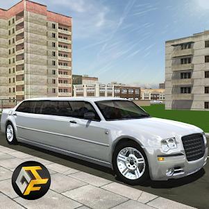 Big City Limo Car Driving Simulator 2.5 screenshot 1