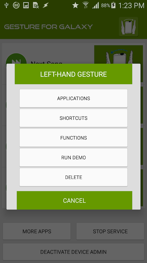 Air Gesture for Galaxy 1 0 APK Download - Android Tools Apps