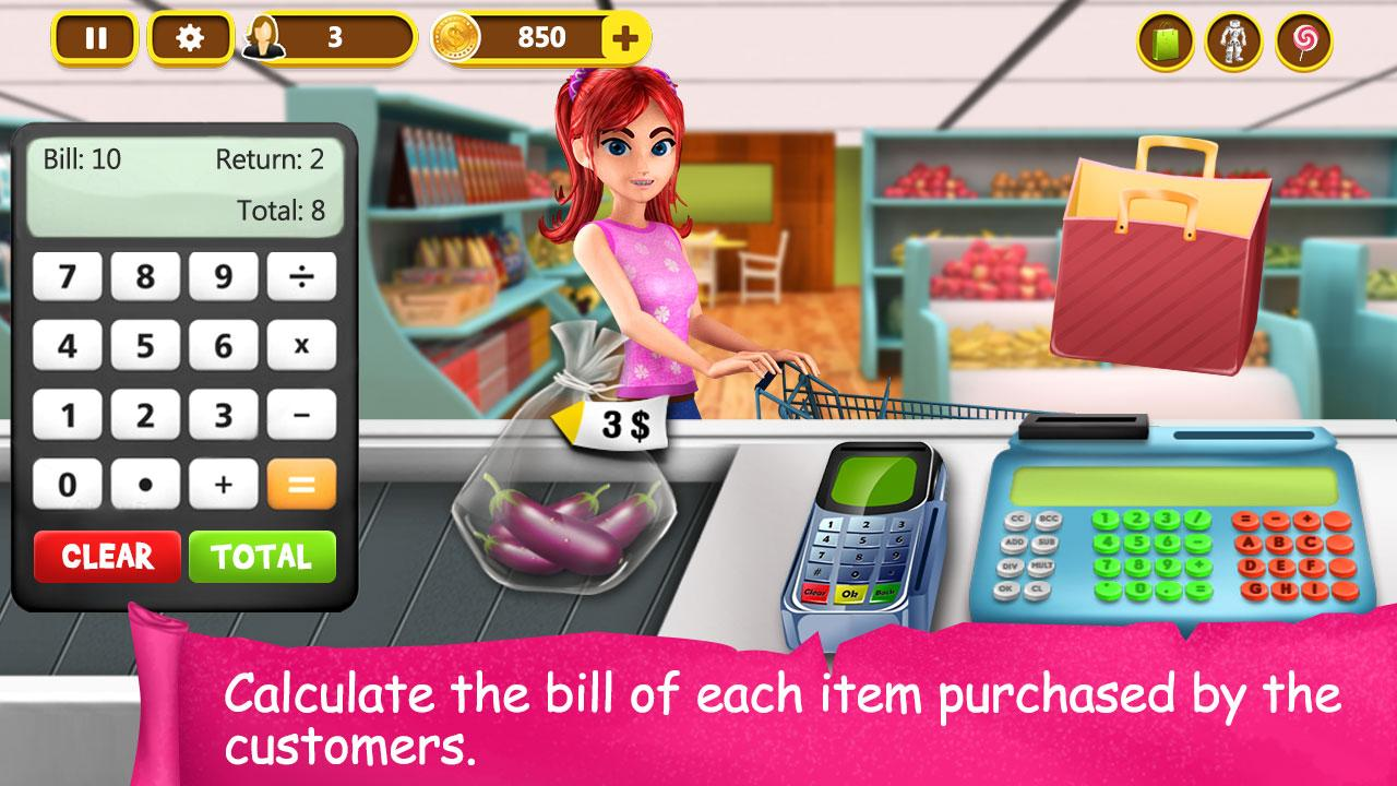 Supermarket Cash Register 1 28 APK Download Android