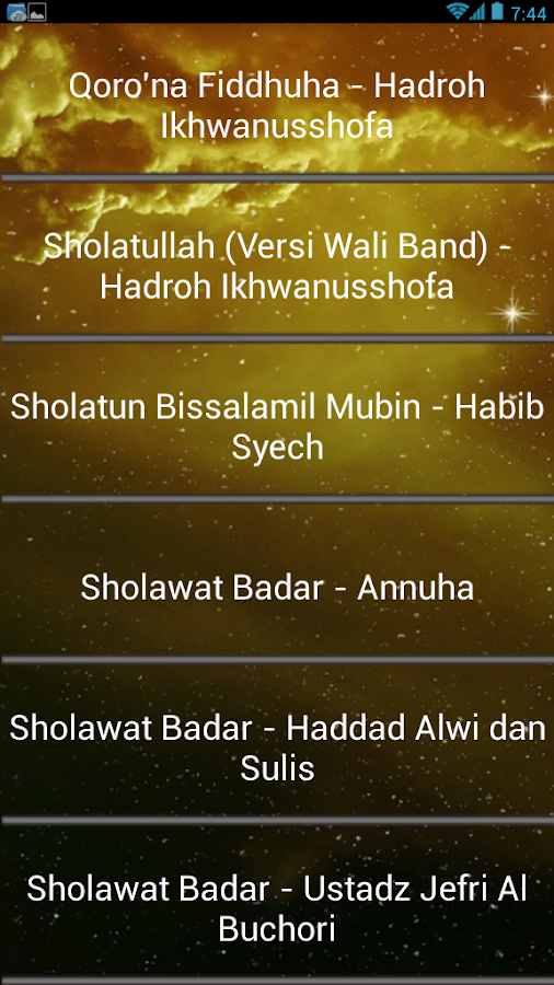 download 113 lagu sholawat al-muqtashidah langitan