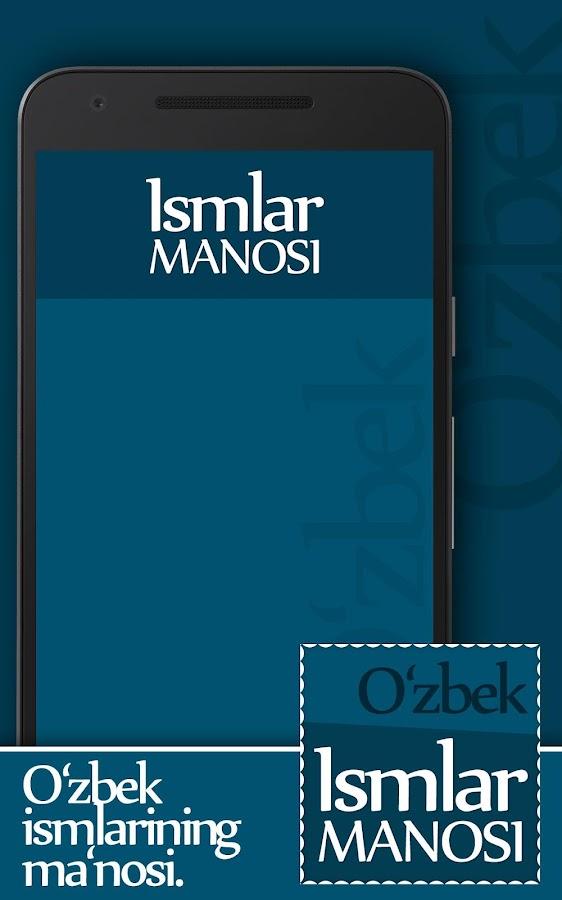 ismlar manosi kitobi yuklab olish