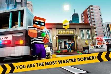🚔 Robber Race Escape 🚔 Police Car Gangster Chase 3.9.0 screenshot 1