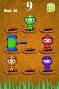 Whack A Jumpy Ninja Warrior 1.0.9 screenshot 1