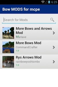 Bow MODS for mcpe 1.0 screenshot 2