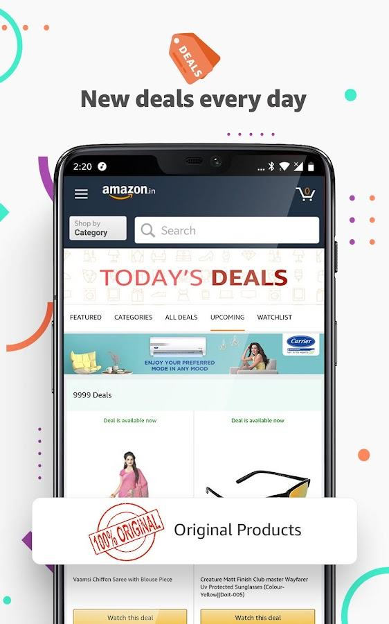 763c9c42a17d Amazon India Online Shopping and Payments APK Download - Android ...