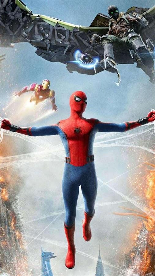 Spider-Man Homecoming Lock Screen HD Wallpapers 1 4 APK