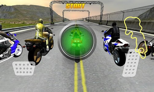 Speed hi Speed Bike Racing 3D 1.0 screenshot 1