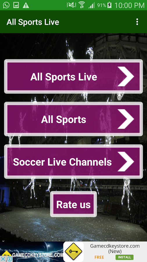 Sports TV All Live Channels 1 0 APK Download - Android Media & Video