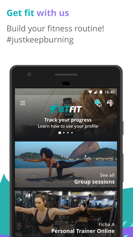 BTFIT: Online Personal Trainer - Fitness Class APK Download