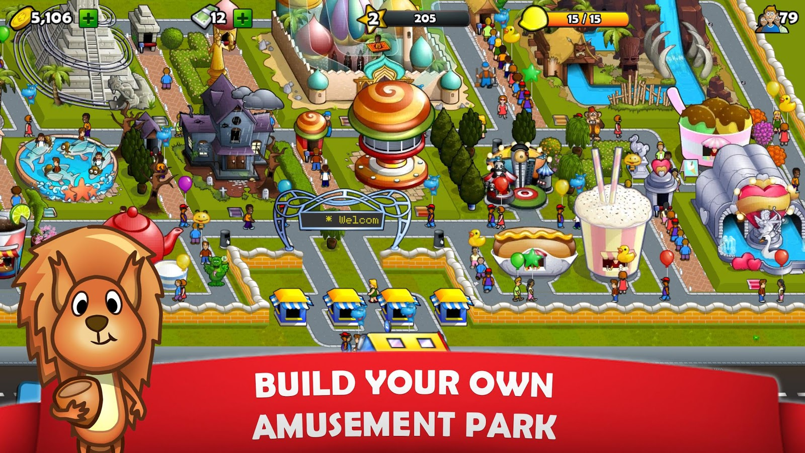 Rollercoaster Mania 1 5 15 APK Download - Android Simulation Games