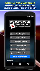 Motorcycle Theory Test UK Free 4.1 screenshot 1
