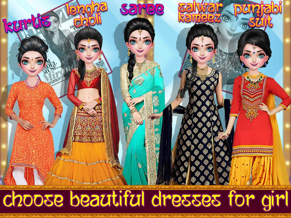 Indian Wedding Party Dressup Fashion 1 1 Apk Download Android
