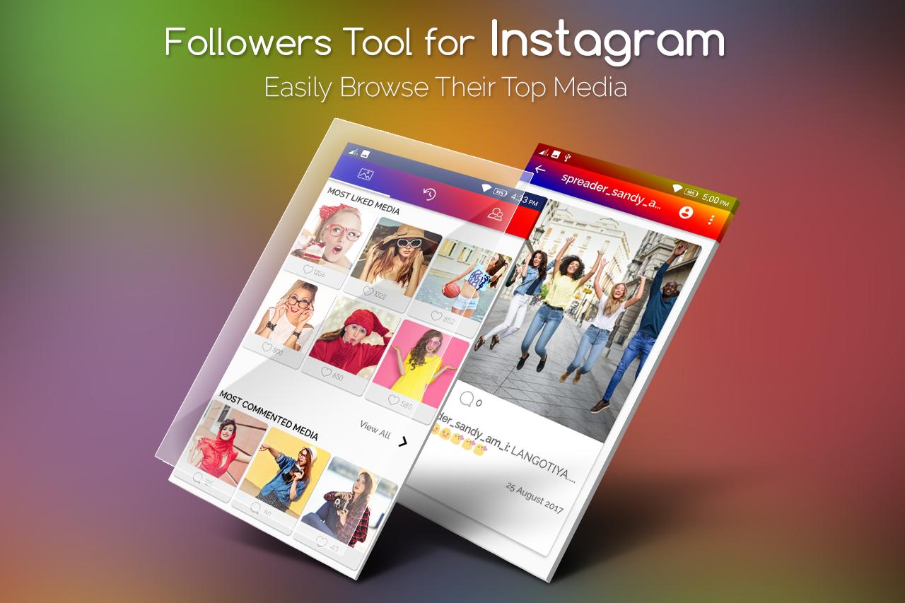 Follower Tools for Instagram / Follower Analyzer 1 0 APK Download