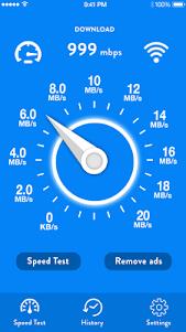 Internet Speed Test 2018 1.4 screenshot 1
