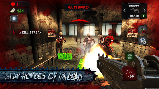 KILL DEAD: Zombie Shooter Call 1.5 screenshot 9