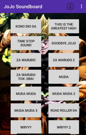 JoJo's Bizarre Soundboard 1 4 APK Download - Android Entertainment Apps