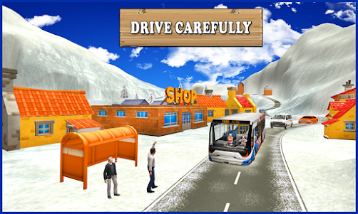 Extreme Snow Bus Driving 1.1 screenshot 2