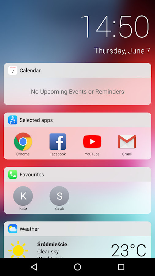 iOS 12 Launcher 19 APK Download - Android Personalization Apps