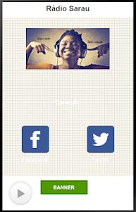 Rádio Sarau 1.2.0 screenshot 1