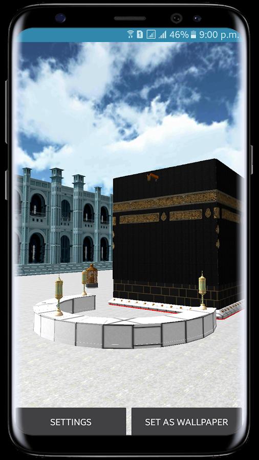 Khana Kaaba Live Wallpaper 3D Mecca Live Wallpaper 1 0 APK