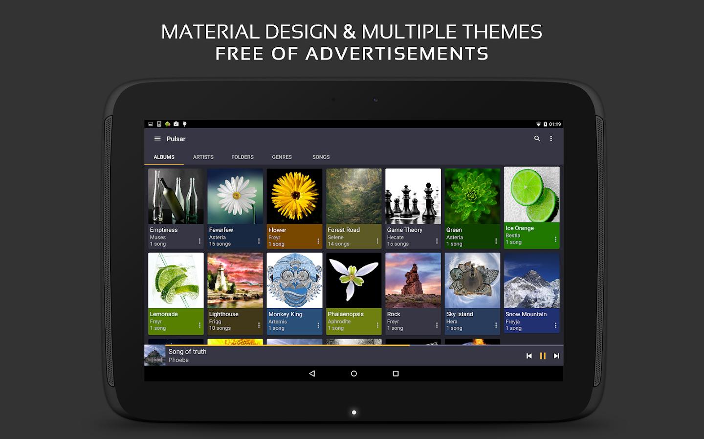 Pulsar premium apk download | Pulsar Music Player Pro 1 5 0 build 61