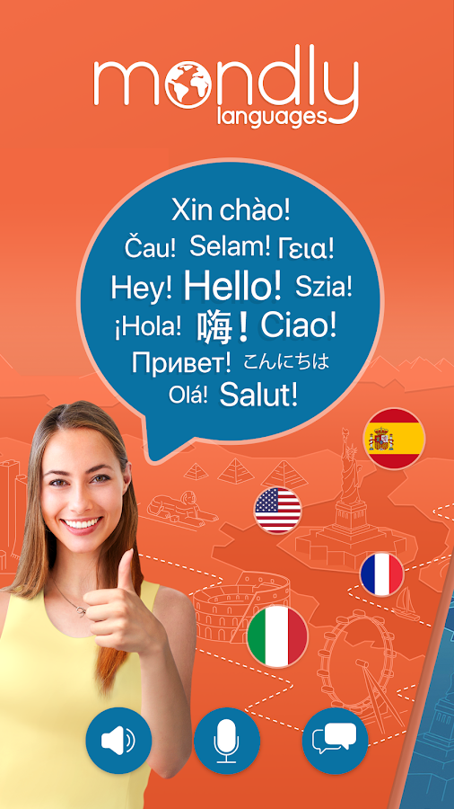 Learn 33 Languages Free - Mondly APK Download - Android