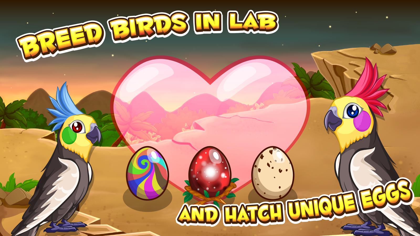 My Virtual Birds - Bird Pet Game for Kids by Tapps ...  Pet Bird Games