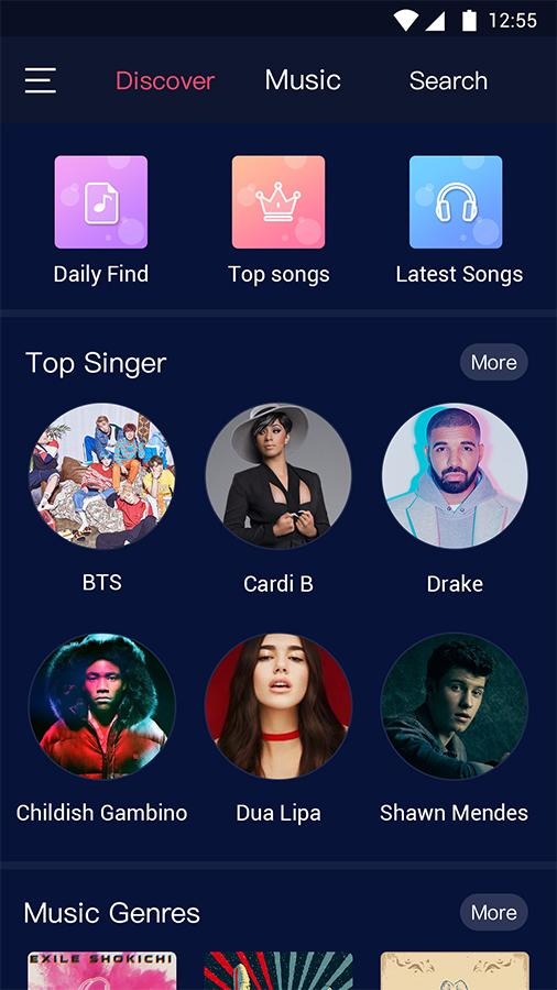 free music player online and offline apk