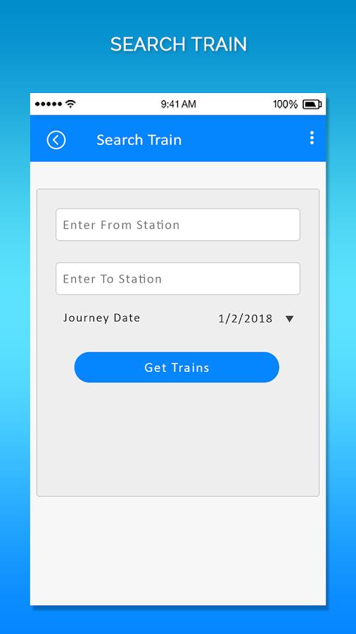 Indian Train Running Status and Live PNR Status 1 0 APK